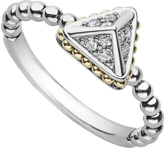Lagos KSL Diamond Pyramid Ring