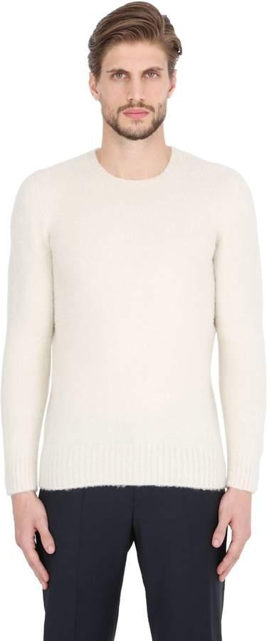 Drumohr Brushed Lambswool Sweater