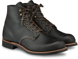 "Red Wing Shoes 3345 Blacksmith 6"" Boot in Black Prairie Leather"