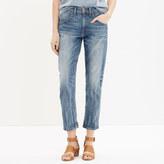 Madewell Rivet & Thread High Riser Slouchy Crop Jeans