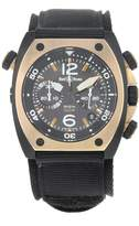 Bell & Ross Marine BR02-CHR-BICOLOR Matte PVD Black Steel Automatic Men's Watch