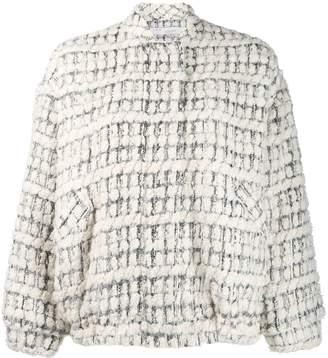 IRO tweed bomber jacket