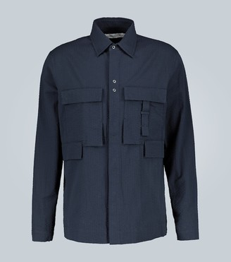 Craig Green Seersucker long-sleeved shirt