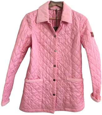 Husky Pink Synthetic Jackets