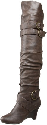 Not Rated Women's Double E Over-The-Knee Boot