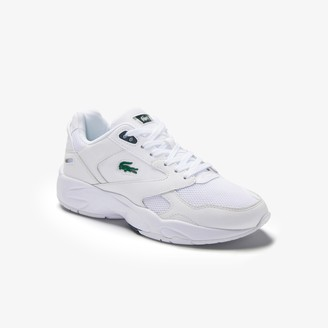 Lacoste Women's Storm 96 LO Textile and Leather Trainers