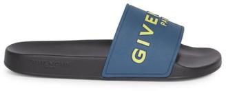 Givenchy Logo Slider Sandals