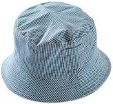 Acme Newborn Baby Girls Boys Fresh Grid Cap Bucket Summer Sun Beach Hats Size 46cm