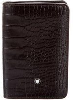 Montblanc Embossed Leather Cardholder