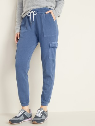 Old Navy French Terry Cargo Joggers for Women