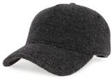 Rag & Bone Women's Marilyn Wool Baseball Cap - Black
