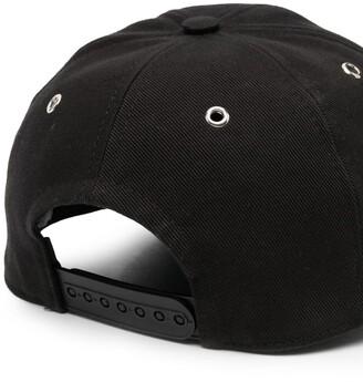 AMI Paris Logo-Embroidered Baseball Cap