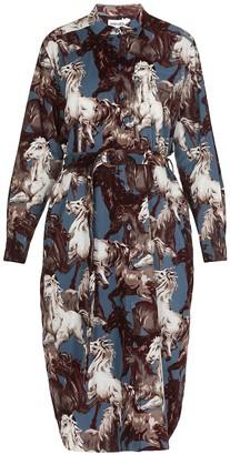Kenzo Floreal Chemisier Dress