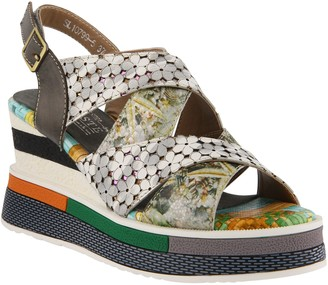 Spring Step L'Artiste by Leather Sandals - Akosa