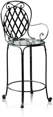 Trilogy Furniture Marseille Wrought Iron Bar Stool