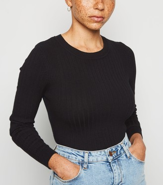 New Look Petite Ribbed Knit Jumper
