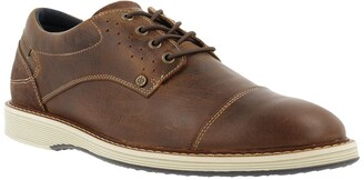 Bullboxer Cap Toe Leather Derby