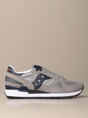 Saucony Sneakers In Micro Mesh And Suede