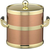 Kraftware 3-qt. Copper and Brass Ice Bucket