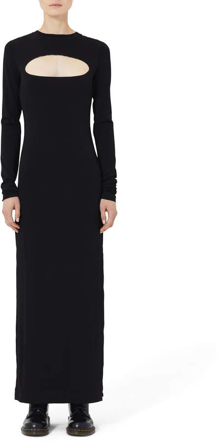 7617698bf12d5 Long Sleeve Jersey Maxi - ShopStyle