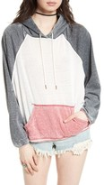 Free People Women's Tri Color Hoodie