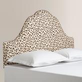 Snow Leopard Elsie Upholstered Headboard