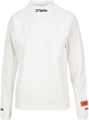 Heron Preston Mock Neck Long-Sleeve T-Shirt