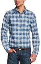 Eddie Bauer Men's Classic Long Sleeve Shirt - blue - 44