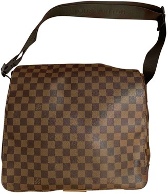 Louis Vuitton Bastille Brown Cloth Bags