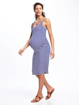 Old Navy Maternity Side-Shirred Cami Midi Dress