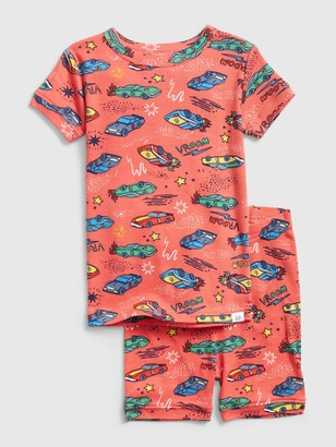 Gap babyGap Race Car Short PJ Set