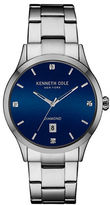 Kenneth Cole Diamond Stainless Steel Bracelet Watch