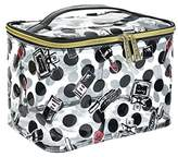 Modella Clearly Make Up Collection Train Case Cosmetic Bag