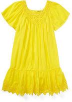 Ralph Lauren Crinkled Lace Dress