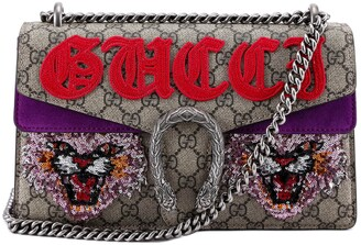 Gucci Dionysus GG Supreme Chain Strap Shoulder Bag
