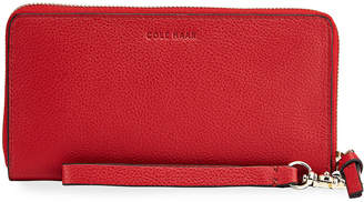 Cole Haan Piper Leather Continental Zip Wallet
