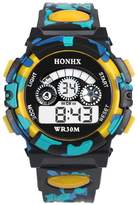 Outdoor Multifunction Waterproof kid Child/Boy's Sports Banstore Electronic Watches Watch