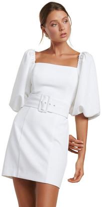 Forever New Henley Puff Sleeve Mini Dress