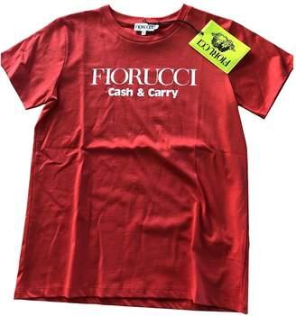 Fiorucci Red Cotton Tops