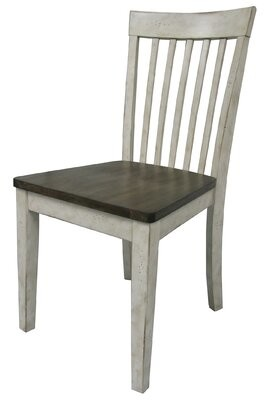 Ophelia Culbertson Solid Wood Dining Chair & Co.