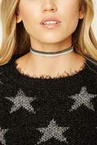 Forever 21 FOREVER 21+ Faux Suede Contrast Choker