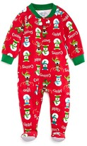Sara's Prints Infants' TBD Unisex Merry Christmas Footie - Sizes 6-24 Months