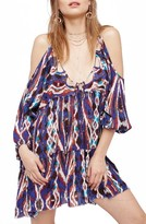 Free People Women's Monarch Cold Shoulder Minidress