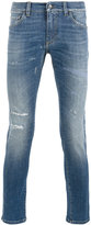Dolce & Gabbana distressed skinny jeans - men - Cotton/Spandex/Elastane - 46