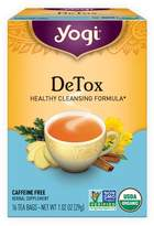 Yogi Tea DeTox Tea by 16 Tea Bags)