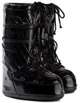 Moon Boot Black Quilted Queen Moon Boots