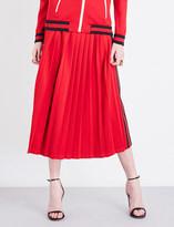 Gucci Striped-sides jersey skirt