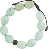 Armenta Oval Chrysoprase & Spinel Beaded Bracelet