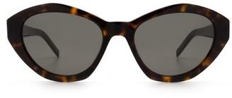 Saint Laurent Sl M60 Havana Sunglasses