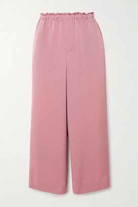 Vince Crepe Culottes - Pink